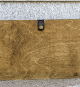 Plywood tablet case