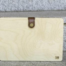 wooden tablet case